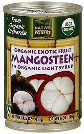 mangosteen organic Native Forest Nutrition info