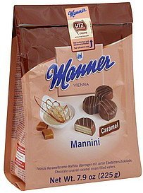 mannini caramel Manner Nutrition info