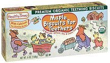 maple biscuits for teethers Healthy Times Nutrition info