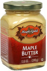 maple butter Maple Gold Nutrition info