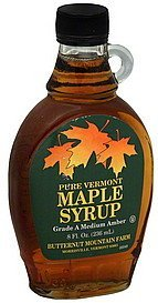 maple syrup pure vermont Butternut Mountain Farm Nutrition info