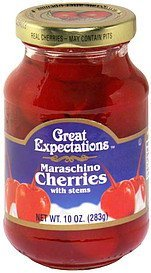 maraschino cherries with stems Great Expectations Nutrition info