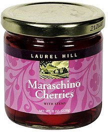 maraschino cherries with stems Laurel Hill Nutrition info