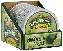 margarita salt premium, sweet & salty lime Margaritaville Nutrition info