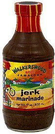 marinade spicy jamaican jerk Walkerswood Nutrition info