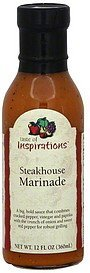 marinade steakhouse Taste of Inspirations Nutrition info