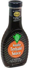 marinade teriyaki sauce Medallion Nutrition info