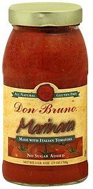marinara Don Bruno Nutrition info