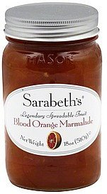 marmalade blood orange Sarabeths Nutrition info