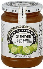marmalade dundee key lime James Keiller & Son Nutrition info