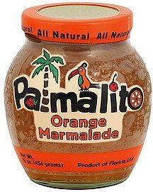 marmalade orange Palmalito Nutrition info