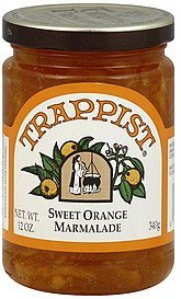 marmalade sweet orange Trappist Nutrition info