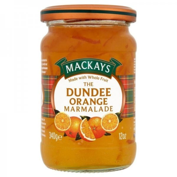 marmalade the dundee orange Mackays Nutrition info
