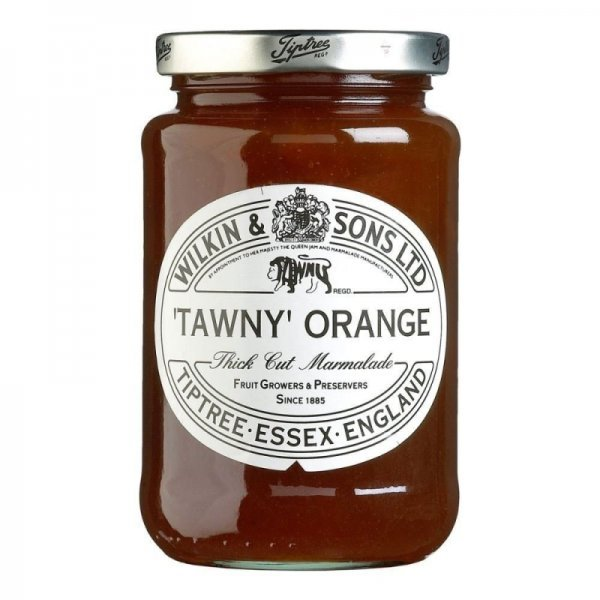 marmalade thick cut, tawny orange Tiptree Nutrition info