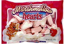 marshmallow hearts vanilla Frankford Candy & Chocolate Company Nutrition info