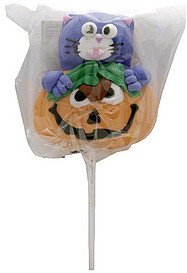 marshmallow lollipops halloween, ghost club Candymallow Nutrition info