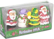 marshmallow pals marshmallow with icing decoration Frankford Candy & Chocolate Company Nutrition info