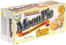 marshmallow pies, banana flavor MoonPie Nutrition info