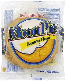 marshmallow sandwich double decker, lemon flavor MoonPie Nutrition info