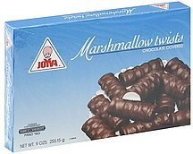 marshmallow twists chocolate covered Joyva Nutrition info