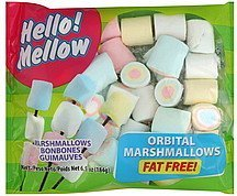 marshmallows fat free, orbital Hello Mellow Nutrition info