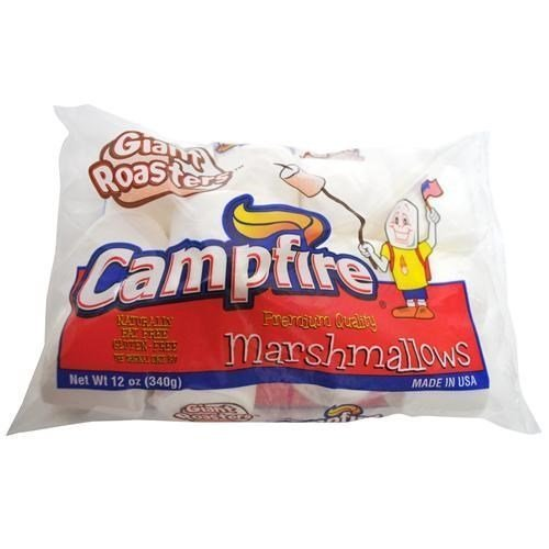 marshmallows giant roasters Campfire Nutrition info