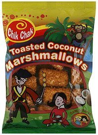 marshmallows toasted coconut Chik Chak Nutrition info