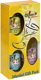 martini gift pack Olive It and More Nutrition info