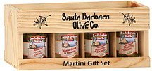 martini gift set assorted Santa Barbara Olive Co. Nutrition info