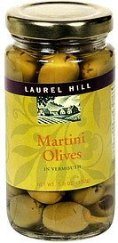martini olives in vermouth Laurel Hill Nutrition info