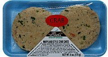 maryland style crab cakes Sonoma Seafoods Nutrition info