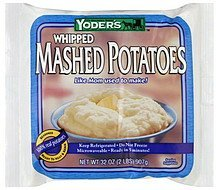 mashed potatoes whipped Yoder's Nutrition info