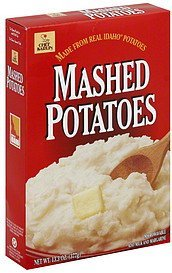 mashed potatoes Chef Karlin Nutrition info