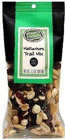 matterhorn trail mix Jensens Orchard Nutrition info