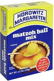 matzoh ball mix Horowitz Margareten Nutrition info