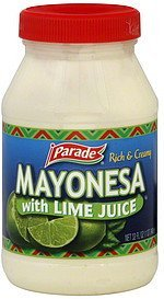 mayonesa with lime juice Parade Nutrition info