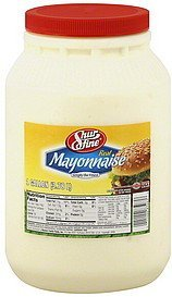 mayonnaise real Shurfresh Nutrition info