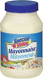 mayonnaise Special Value Nutrition info
