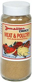 meat & poultry seasoning Jamaican Choice Nutrition info