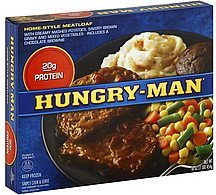 meatloaf home-style Hungry-Man Nutrition info
