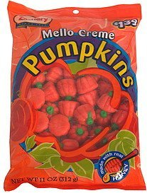 mello creme pumpkins pre-priced Zachary Nutrition info
