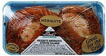 mesquite marinated stuffed salmon Sonoma Seafoods Nutrition info