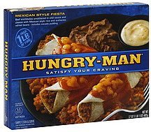 mexican style fiesta Hungry-Man Nutrition info