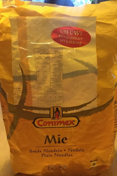 mie Conimex Nutrition info