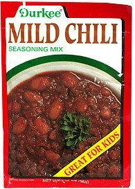 mild chili seasoning mix Durkee Nutrition info