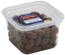 milk chocolate almonds Its Delish Nutrition info