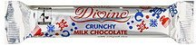 milk chocolate bar crunchy with crisp rice Divine Nutrition info