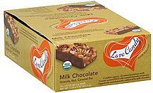 milk chocolate bars milk chocolate bar, granola, nut, caramel Love Candy Nutrition info