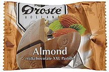 milk chocolate xxl pastille, almond Droste Nutrition info