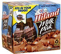 milk chocolate Hiland Nutrition info